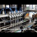 αυτόματη γραμμή κεφαλής πλήρωσης υγρού πλήρωσης υγρού απορρυπαντικού 6 κεφαλών