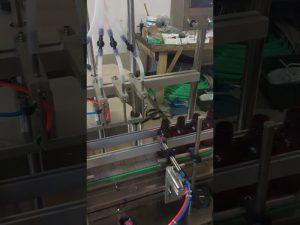 Μηχανή πλήρωσης υγρού μπουκαλιού 4 κεφαλών
