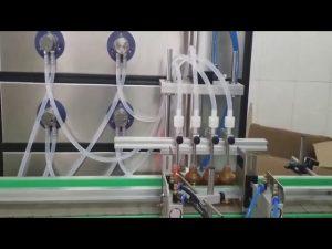 Αυτόματη μηχανή πλήρωσης καλλυντικών μπουκαλιών 10ml 30ml 60ml 100ml για υγρά