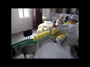 αυτόματο μηχάνημα πλήρωσης υγρού σαπουνιού πιστολιού