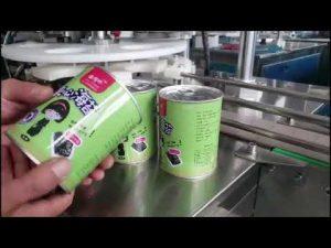 πλήρης αυτόματη μηχανή πλήρωσης καλλυντικών υγρών μπουκαλιών με κάπαρο