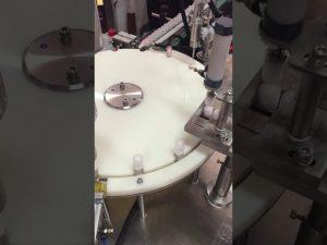 αυτόματη μηχανή πλήρωσης και κάλυψης λοσιόν μικρού μπουκαλιού