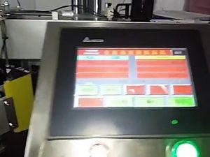 αυτόματη μηχανογραφημένη μηχανή εκτύπωσης ετικέτα ρολό αυτοκόλλητο πλαστική σακούλα μηχανή ετικέτα
