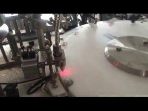 αυτόματη μηχανή πλήρωσης μπουκαλιών βερνικιών νυχιών 30-50 bpm