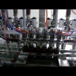 γραμμική αυτόματη μηχανή πλήρωσης υγρού συσκευασίας υγρού συσκευασίας 4 μπουκαλιών εμβόλου ιξώδους κέτσαπ κέτσαπ