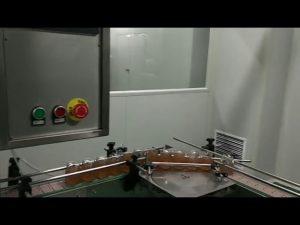 αυτόματο μπουκάλι μαρμελάδα φρούτων βάζο σάλτσα ζυμαρικών πλύσιμο γεμίζοντας μηχανή κάλυψης
