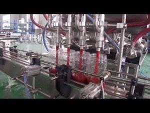 αυτόματη μηχανή πλήρωσης συσκευασίας μπουκαλιών φοινικέλαιου