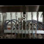 εργοστασιακή άμεση πώληση γραμμικό έμβολο υγρή σάλτσα μπαχαρικών γεμίζοντας μπουκάλι μηχανή πώματος
