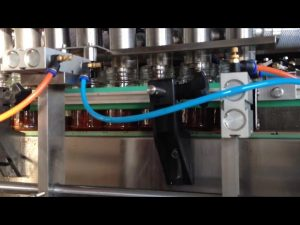 αυτόματη μηχανή πλήρωσης σάλτσας ντομάτας με φυστικοβούτυρο