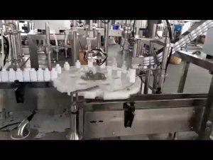 καλλυντικά ιατρικά πλαστικά μπουκάλι γεμίζοντας μηχανή πώματος
