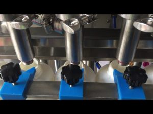 πλήρης αυτόματη τιμή μηχάνημα πλήρωσης υγρού μπουκαλιού σαμπουάν εμβόλου