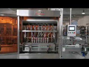 πλήρης αυτόματη μηχανή πλήρωσης σάλτσας ντομάτας