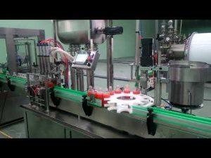 Αυτόματη μηχανή πλήρωσης και κάλυψης εμπλοκής 4 κεφαλών
