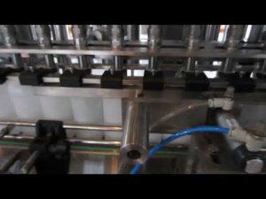 αυτόματο μηχάνημα πλήρωσης υγρού απορρυπαντικού και απολυμαντικού