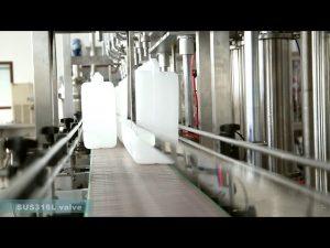 Πλήρης αυτόματη μηχανή σήμανσης κάλυψης πλήρωσης λιπαντικού λαδιού