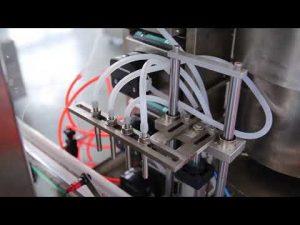 Πλήρης αυτόματη μηχανή πλήρωσης λαδιού κάνναβης μπουκαλιών βερνίκι νυχιών cbd