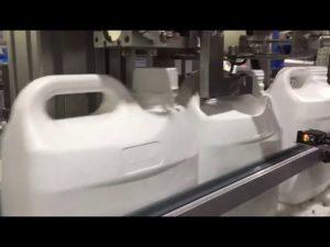 Αυτόματη μηχανή πλήρωσης υγρών & κρέμας 4 ακροφυσίων