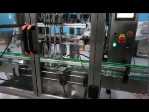 αυτόματη μηχανή πλήρωσης γραμμής παραγωγής μαρμελάδας φρούτων και μηχανή πλήρωσης σιτηρεσίου