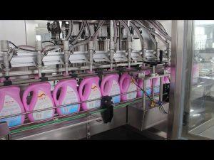 αυτόματο βρώσιμο λάδι, ελαιόλαδο, μηχανή πλήρωσης μπουκαλιών σαμπουάν απορρυπαντικού