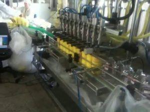 αυτόματη μηχανή πλήρωσης σαμπουάν ακροφυσίων κατάδυσης εμβόλου