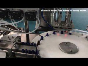 μηχανή πλήρωσης αρώματος γυάλινου μπουκαλιού, καλλυντικό λοσιόν