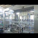 εργοστασιακή αυτόματη γραμμική ιξώδης υγρή μηχανή πλήρωσης μπουκαλιών βρώσιμου λαδιού