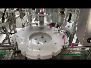 αυτόματο ηλεκτρονικό υγρό τσιγάρου, μηχανή σήμανσης πώματος πλήρωσης λαδιού cbd